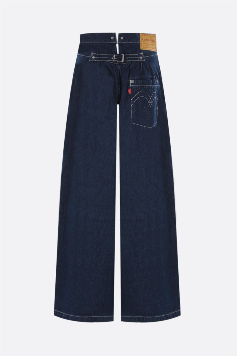 LEVI'S MADE & CRAFTED: Levi's® Red wide-leg jeans Color Blue_2