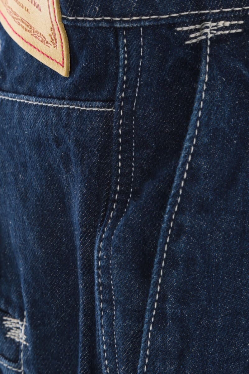 LEVI'S MADE & CRAFTED: jeans a gamba ampia Levi's® Red Colore Blue_3