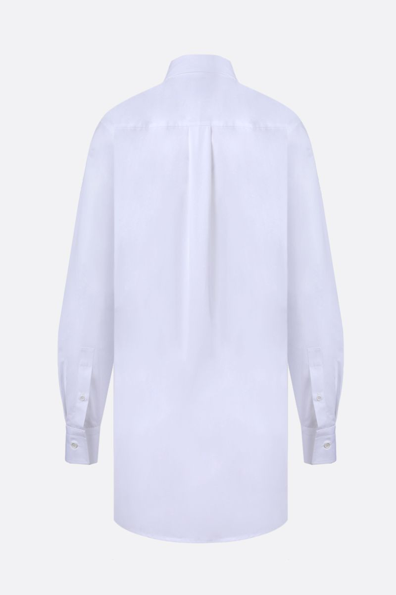 BOTTEGA VENETA: quilted panel cotton shirt Color White_2