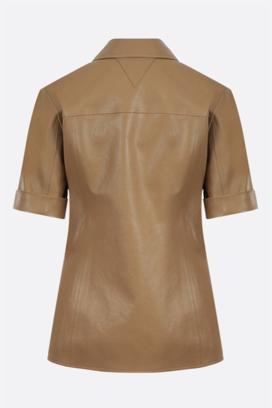 BOTTEGA VENETA: soft nappa short-sleeved shirt Color Neutral_2