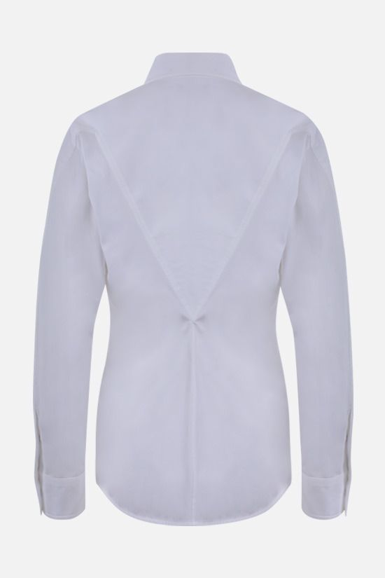 BOTTEGA VENETA: stretch cotton shirt Color White_2