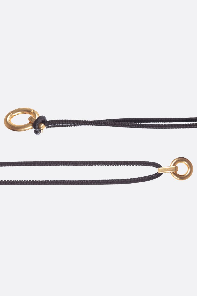 BOTTEGA VENETA: soft nappa elasticated belt_2