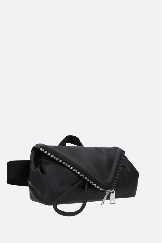 BOTTEGA VENETA: Beak smooth leather belt bag Color Black_2