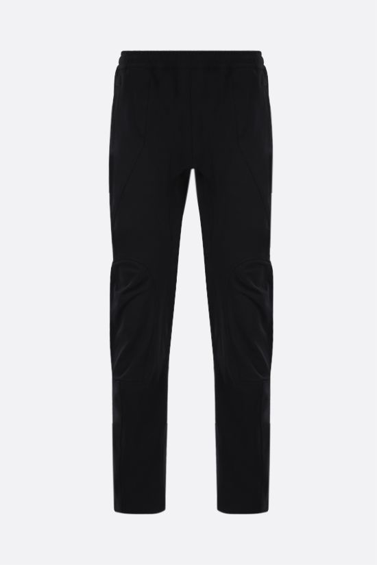 BOTTEGA VENETA: stretch technical fabric joggers Color Black_1