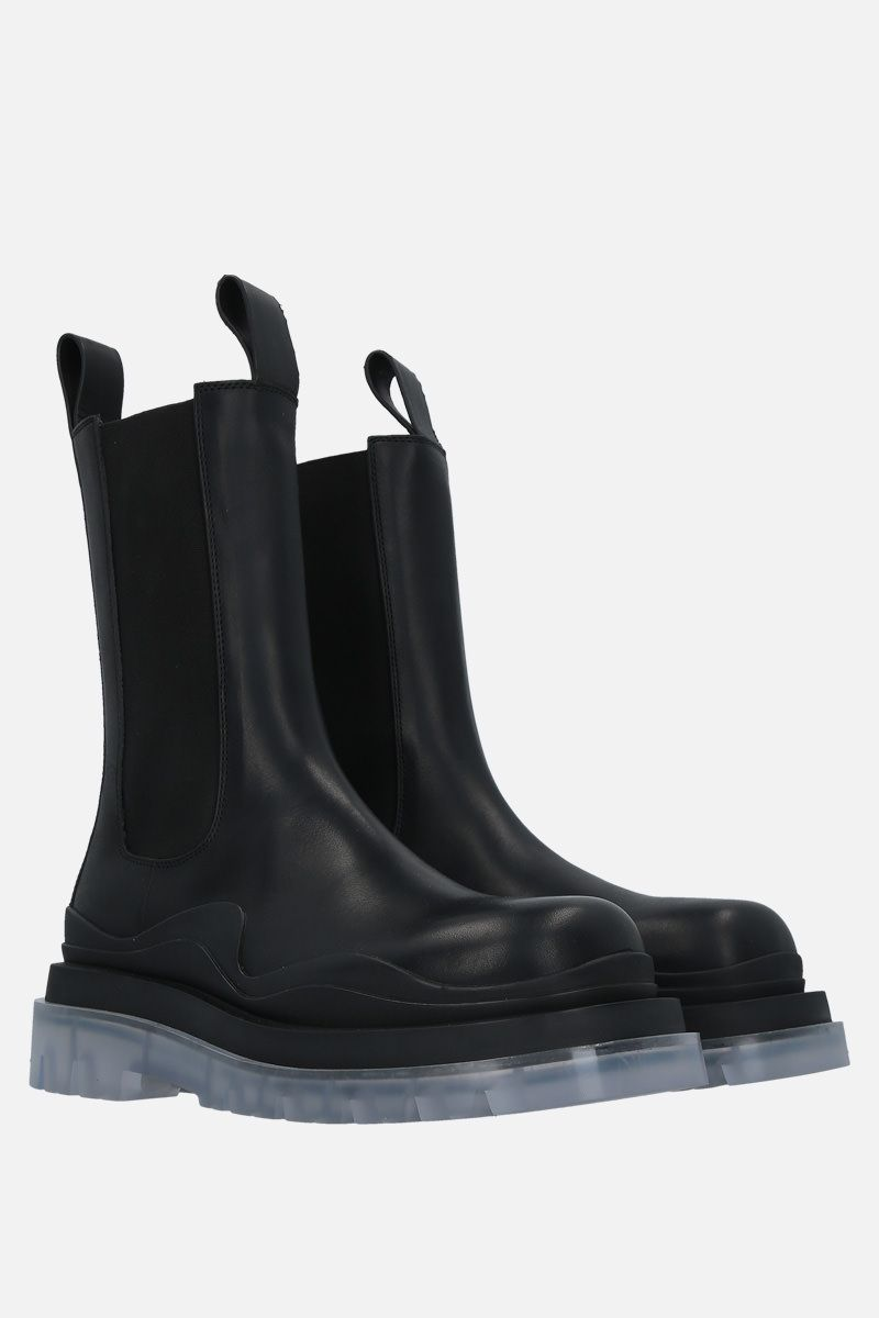 BOTTEGA VENETA: BV Tire smooth leather boots Color Black_2