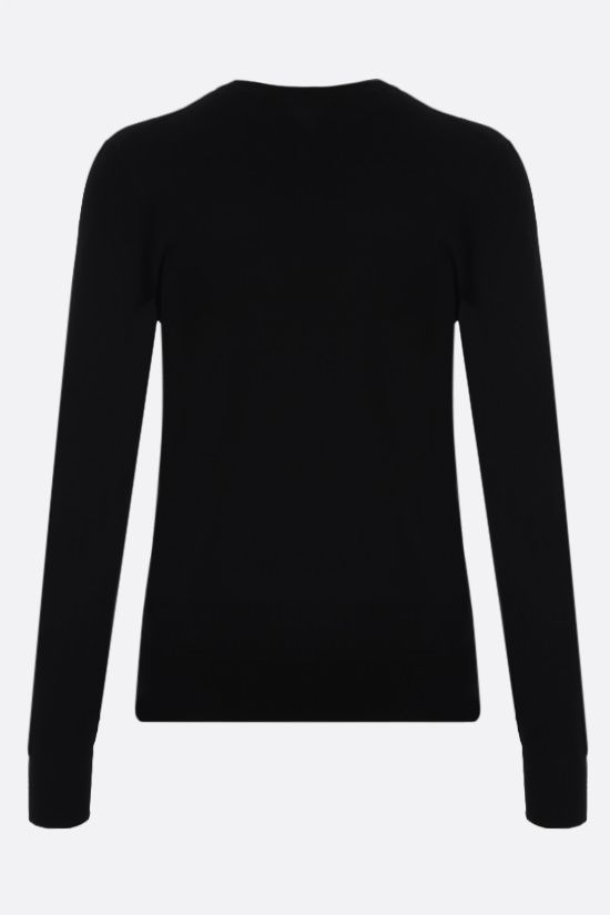 BOTTEGA VENETA: technical knit pullover Color Black_2