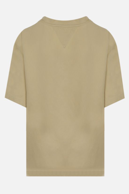BOTTEGA VENETA: silk twill t-shirt Color White_2