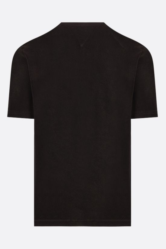 BOTTEGA VENETA: cotton terrycloth t-shirt Color Brown_2