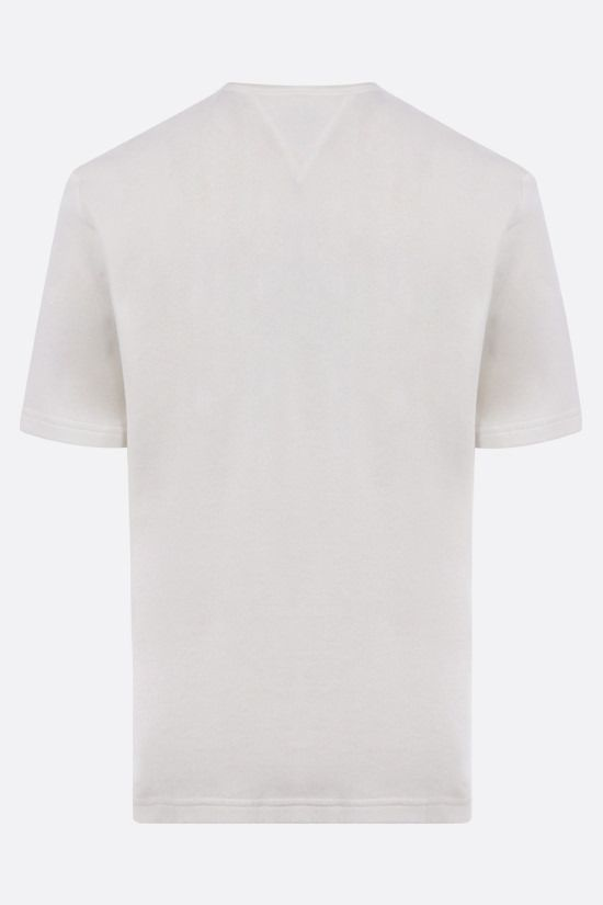 BOTTEGA VENETA: cotton terrycloth t-shirt Color Neutral_2