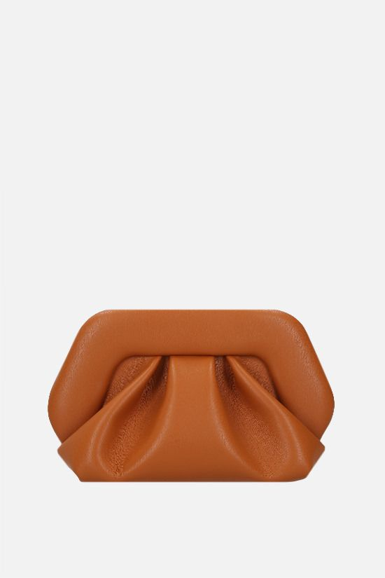 THEMOIRè: Gea soft faux leather clutch Color Orange_1