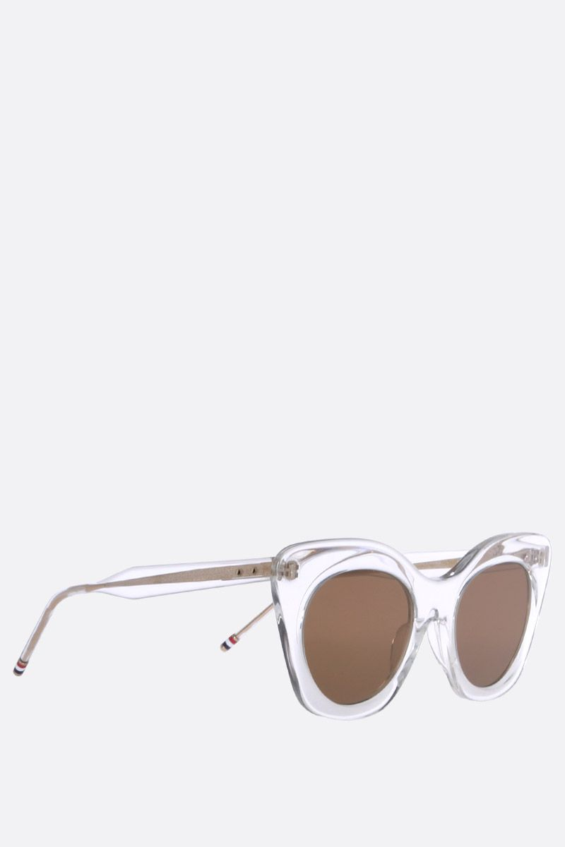THOM BROWNE: TB 508 C sunglasses Color Neutral_2