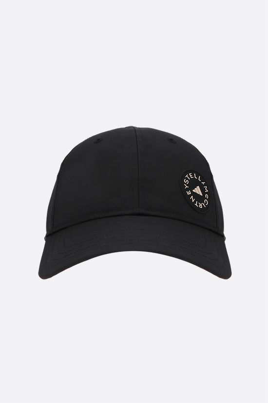 ADIDAS BY STELLA McCARTNEY: adidas by Stella McCartney nylon baseball cap Color Black_1