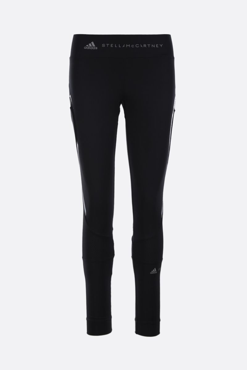ADIDAS BY STELLA McCARTNEY: Essentials tights in sweat-wicking fabric Color Black_1