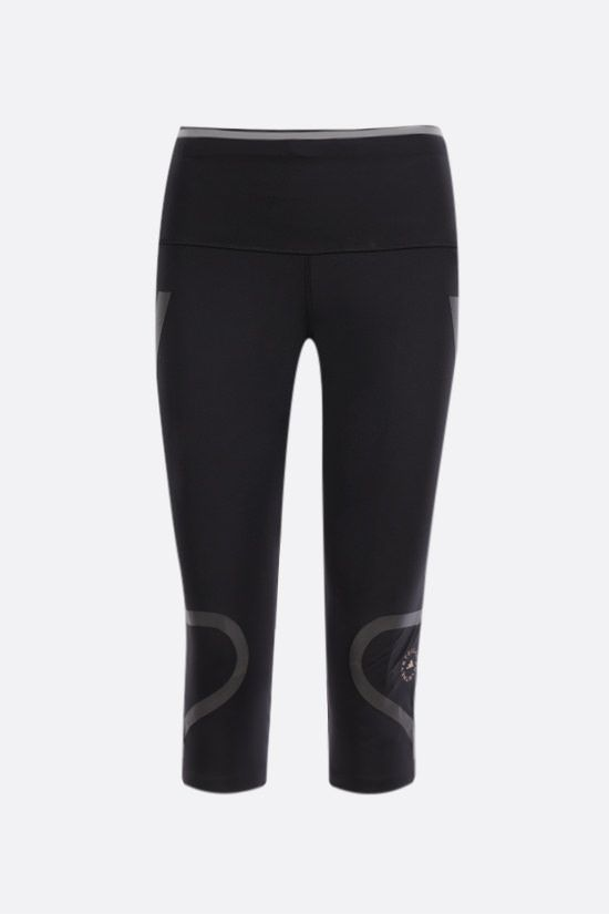 ADIDAS BY STELLA McCARTNEY: Primeblue technical jersey leggings Color Black_1