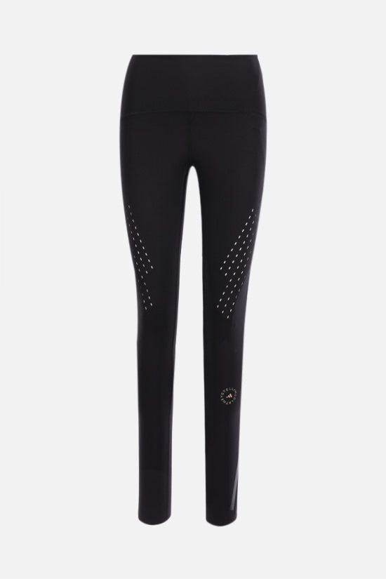 ADIDAS BY STELLA McCARTNEY: Truepurpose technical jersey leggings Color Black_1