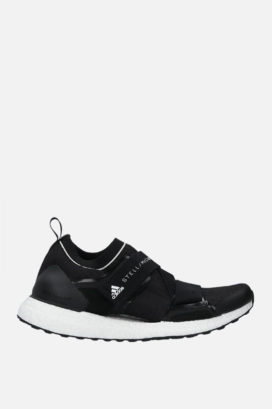 ADIDAS BY STELLA McCARTNEY: Ultraboost X sneakers in Primeknit fabric Color Black_1