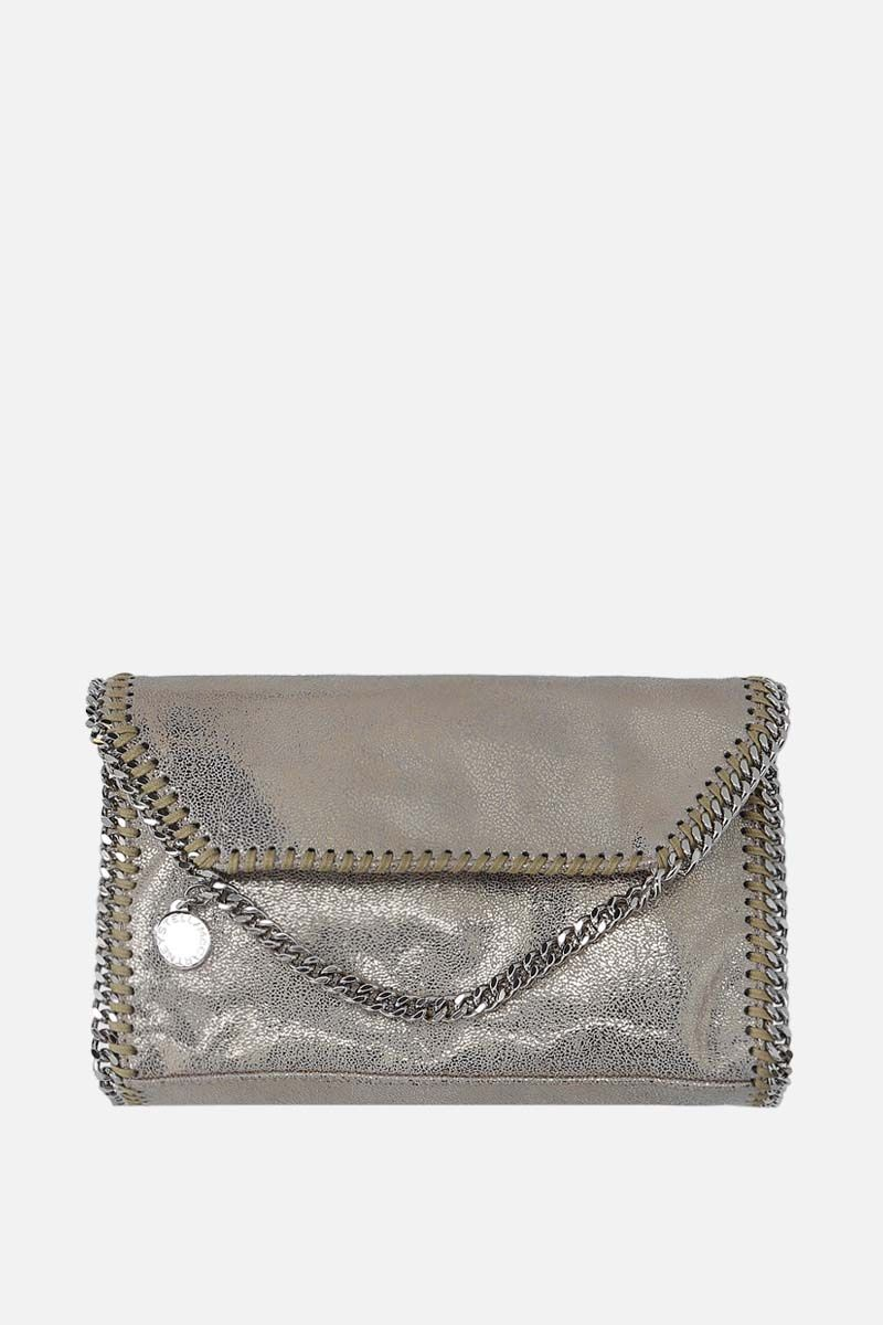 STELLA McCARTNEY: Falabella mini shoulder bag in Shaggy Deer_1