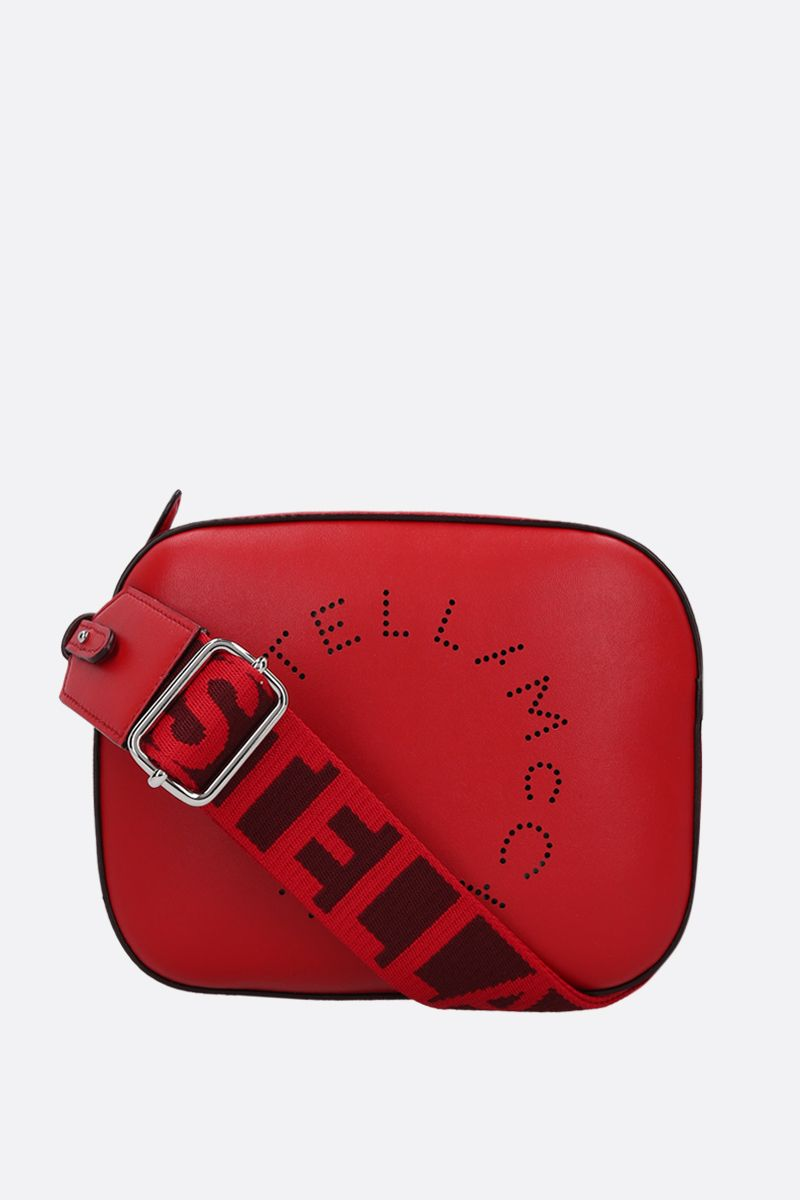 STELLA McCARTNEY: Stella Logo mini shoulder bag in Alter Nappa_1