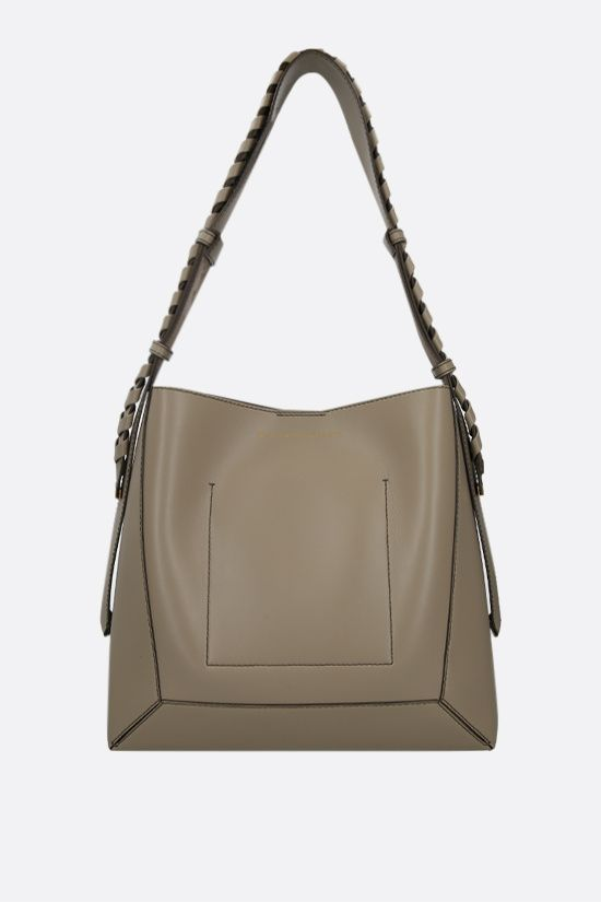 STELLA McCARTNEY: Alter Nappa medium hobo bag Color Brown_1