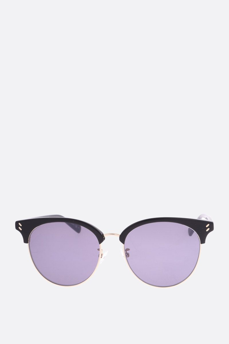 STELLA McCARTNEY: Bio-acetate and metal sunglasses_1