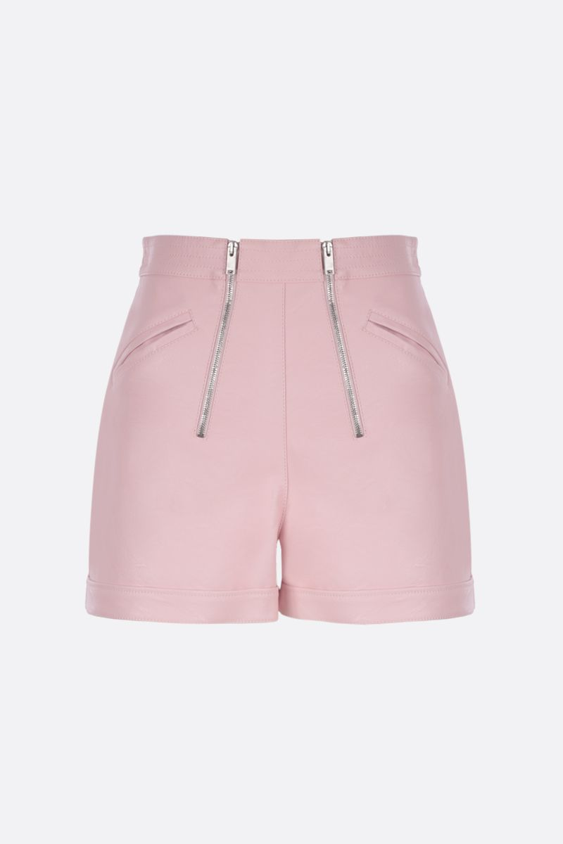 STELLA McCARTNEY: Alter Nappa high-waisted shorts Color Pink_1