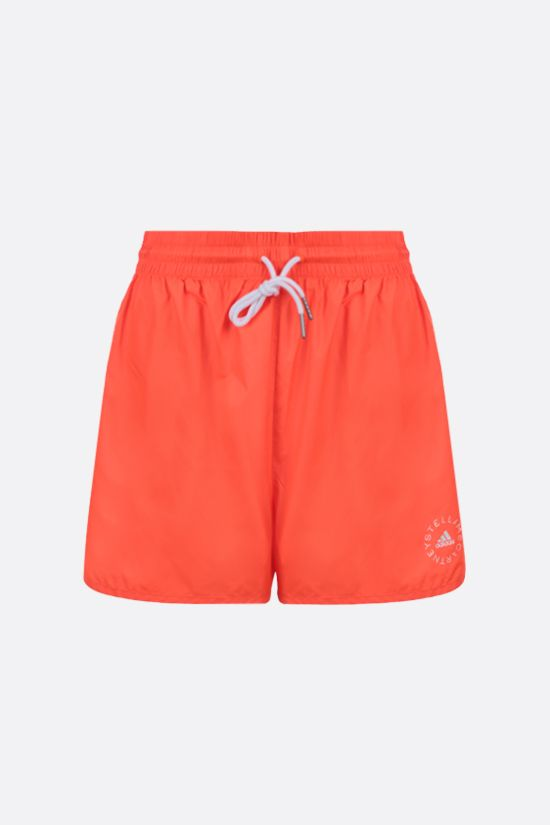STELLA McCARTNEY: Josie technical fabric shorts Color Red_1