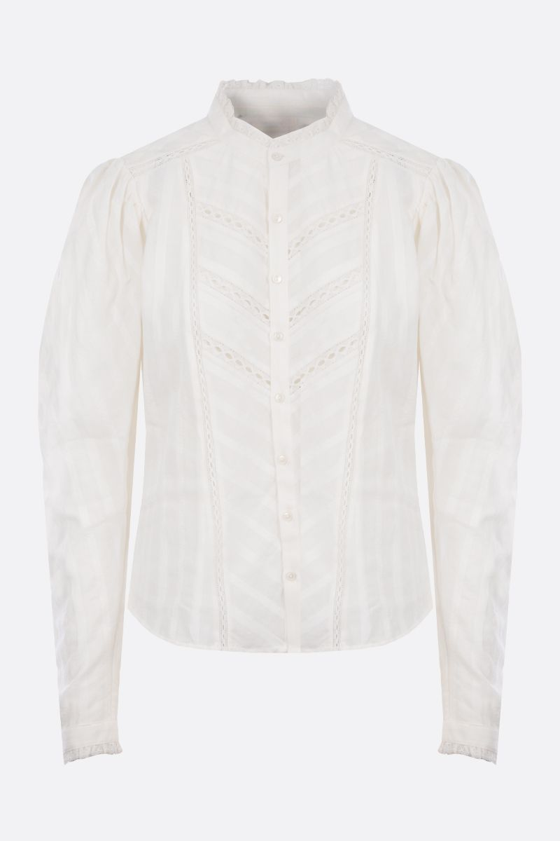 ISABEL MARANT ETOILE: Reafi cotton shirt Color White_1