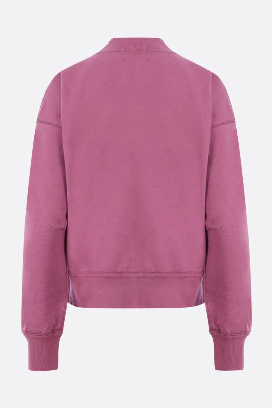 ISABEL MARANT ETOILE: Moby cotton sweatshirt Color Pink_2