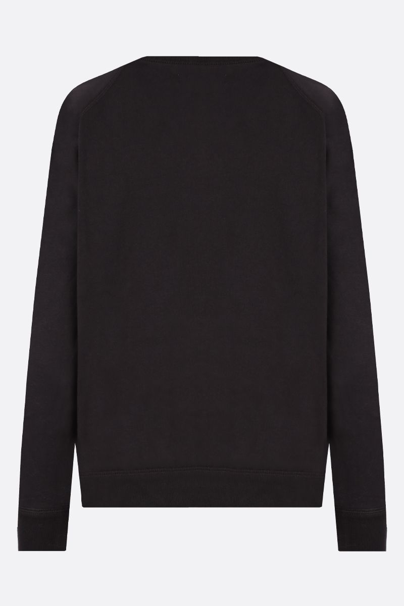 ISABEL MARANT ETOILE: Milly cotton blend sweatshirt Color Black_2