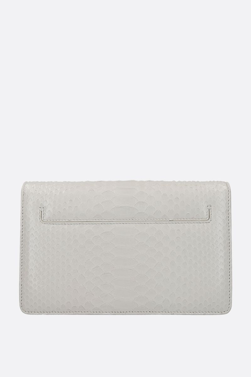TOM FORD: 001 shoulder bag in python leather_2