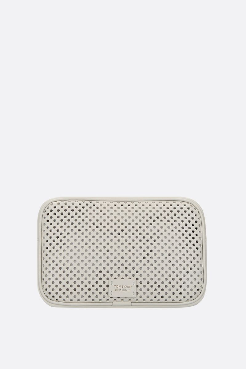 TOM FORD: T-Twist crossbody bag in perforated leather_2
