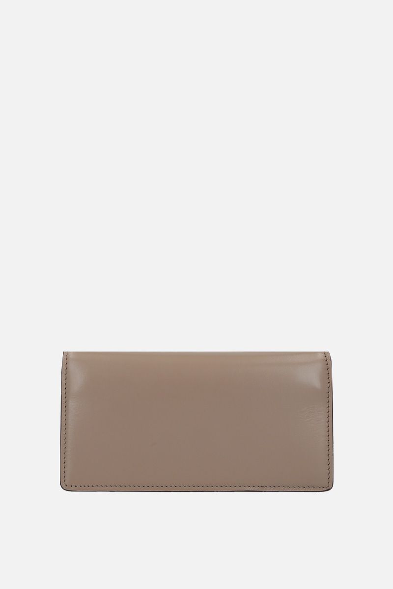 TOM FORD: smooth leather crossbody bag with TF detail Color Grey_2