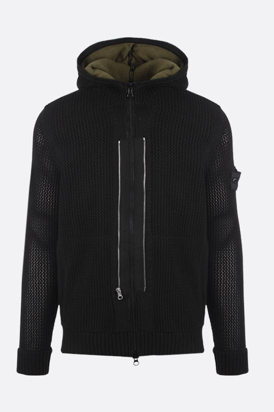STONE ISLAND SHADOW PROJECT: nylon full-zip pullover Color Black_1