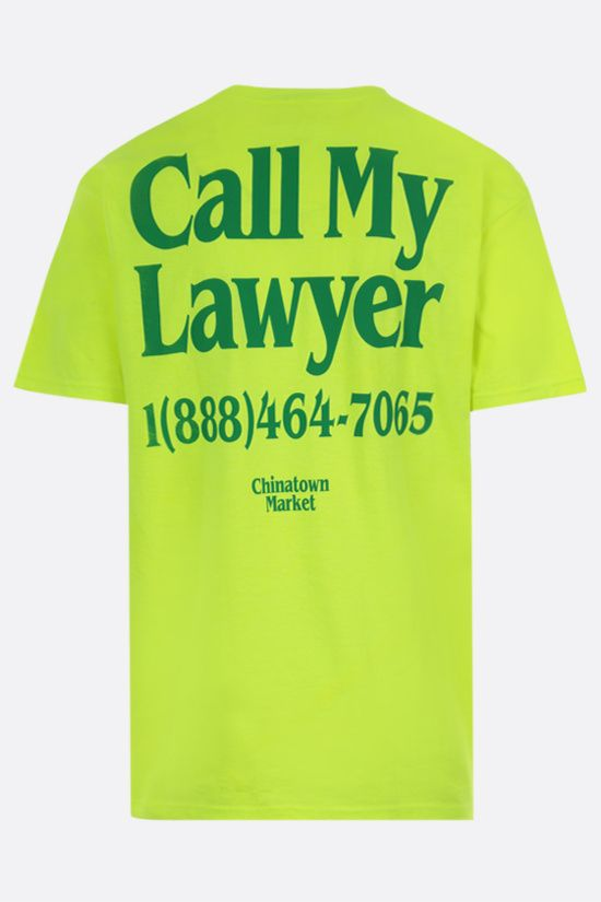 CHINATOWN MARKET: Lawyer cotton t-shirt Color Yellow_2