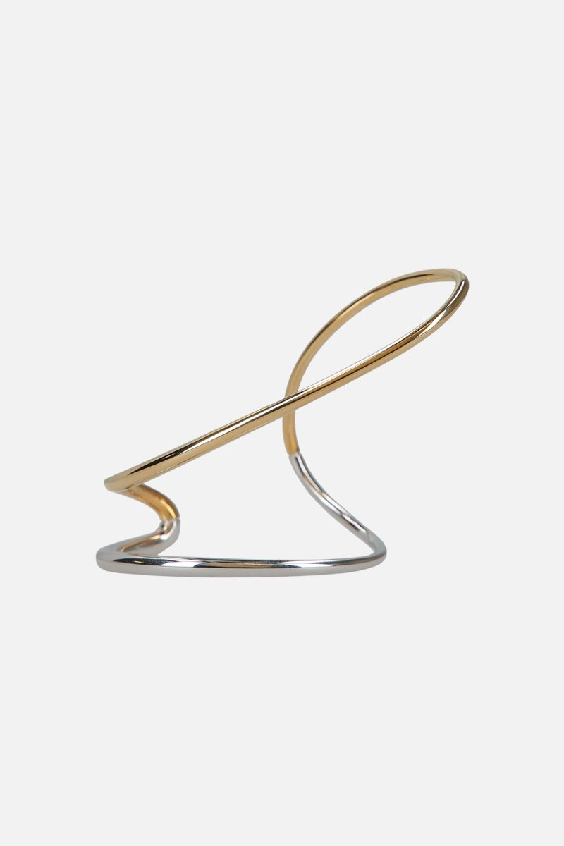 CHARLOTTE CHESNAIS: Ivy small bracelet in sterling silver and gold vermeil Color Multicolor_1