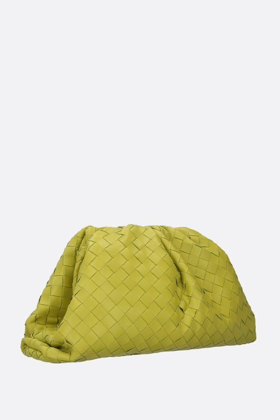 BOTTEGA VENETA: The Pouch clutch in Intrecciato VN Color Green_2