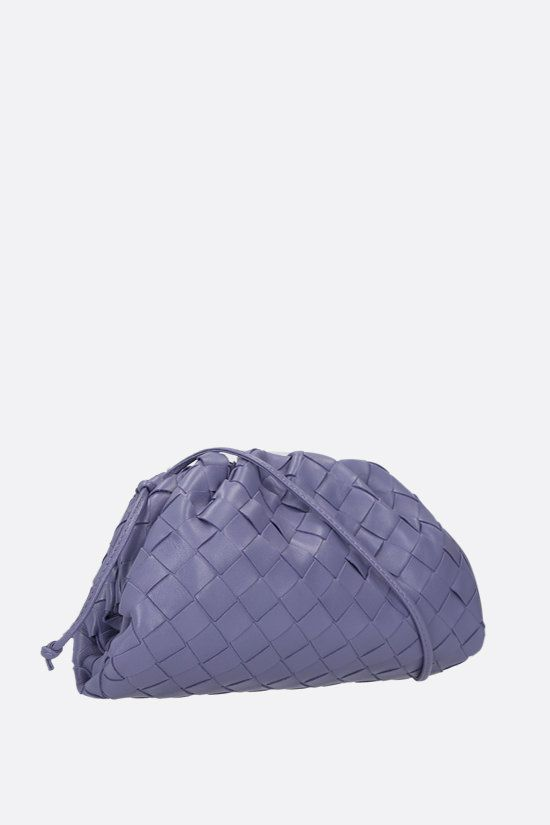 BOTTEGA VENETA: The Pouch 20 clutch in Intrecciato nappa Color Purple_2
