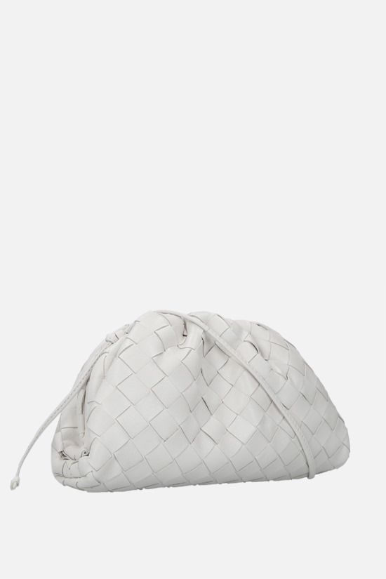 BOTTEGA VENETA: The Pouch 20 clutch in Intrecciato nappa Color Neutral_2