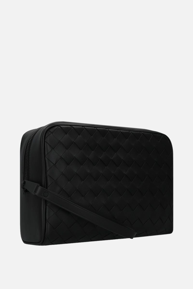 BOTTEGA VENETA: Intrecciato VN beauty case Color Black_2
