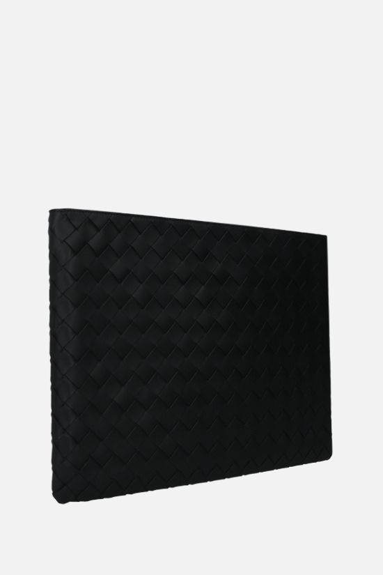 BOTTEGA VENETA: Intrecciato VN document case Color Black_2