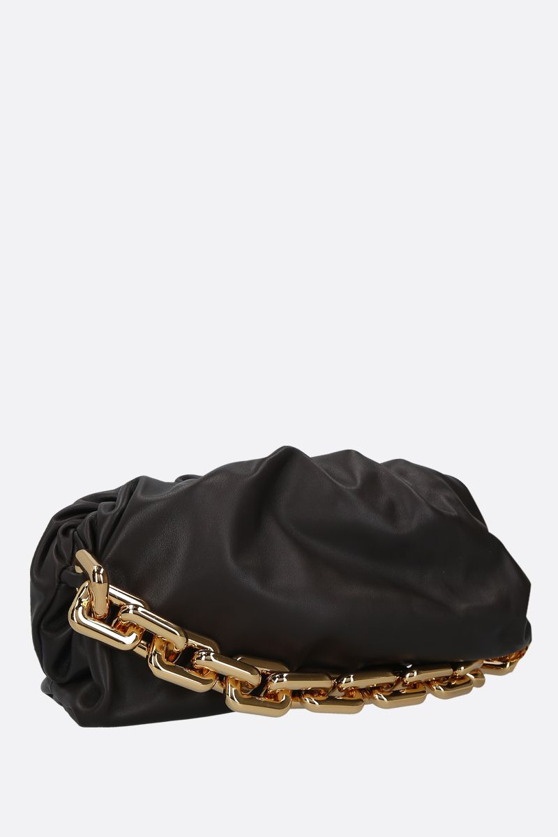 BOTTEGA VENETA: clutch The Chain Pouch in pelle liscia_2