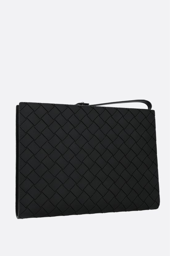 BOTTEGA VENETA: VN Intrecciato document holder Color Black_2