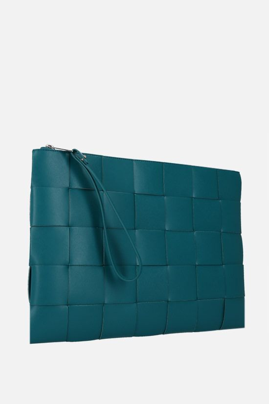 BOTTEGA VENETA: Maxi Intrecciato clutch Color Multicolor_2