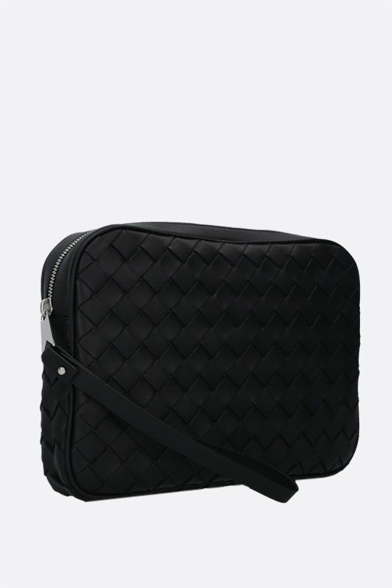 BOTTEGA VENETA: Intrecciato Hidrology clutch Color Black_2