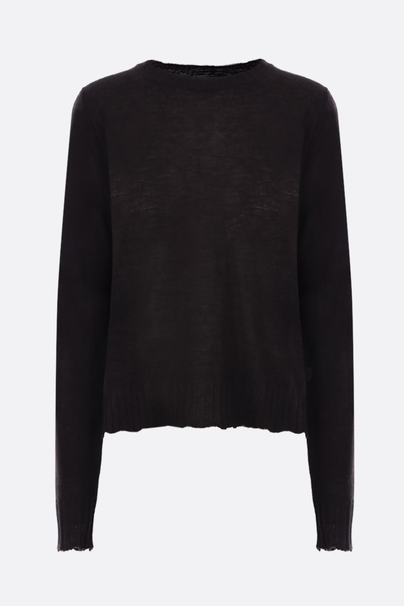 BOTTEGA VENETA: lightweight cashmere pullover Color Brown_1