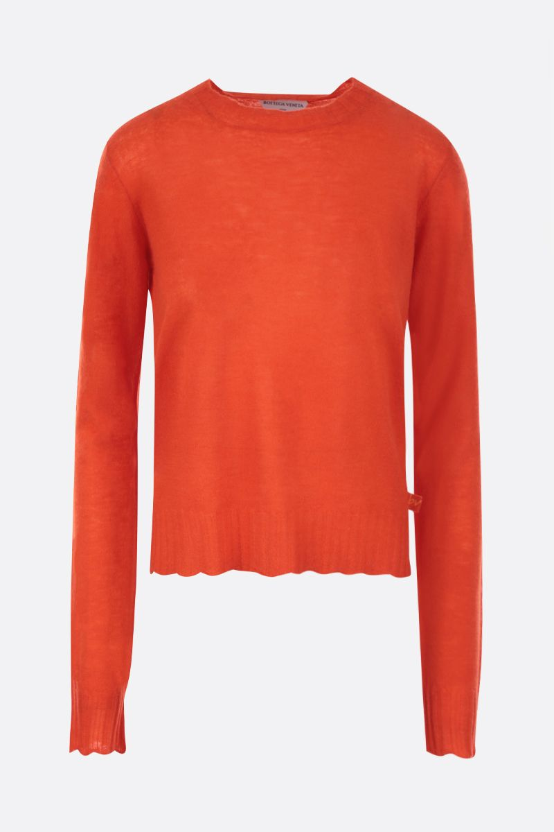 BOTTEGA VENETA: lightweight cashmere pullover Color Orange_1