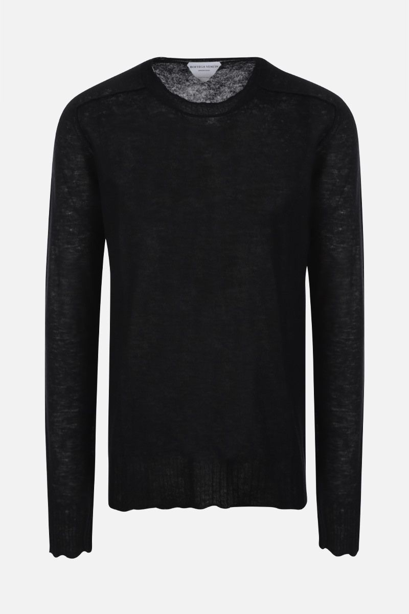 BOTTEGA VENETA: ultralight cashmere pullover Color Black_1