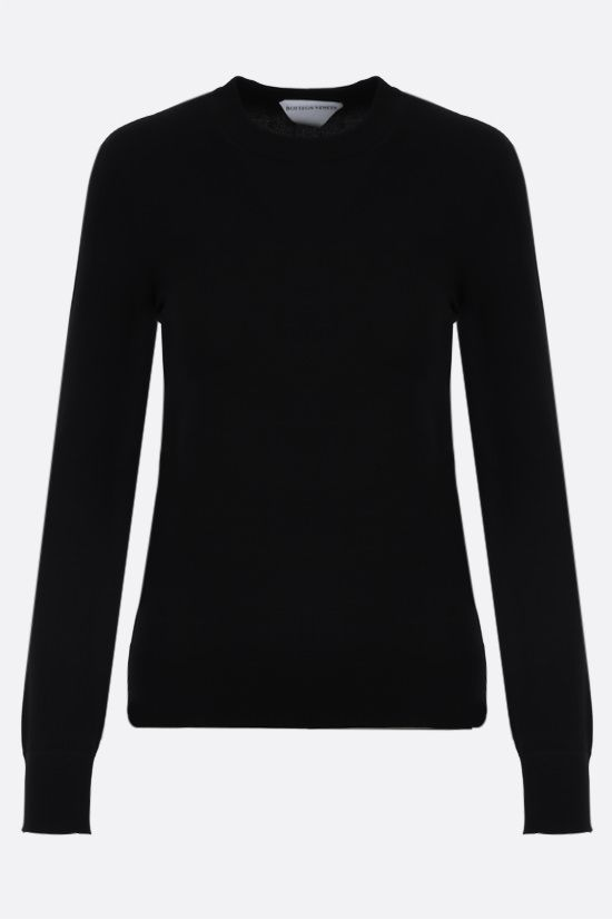 BOTTEGA VENETA: technical knit pullover Color Black_1
