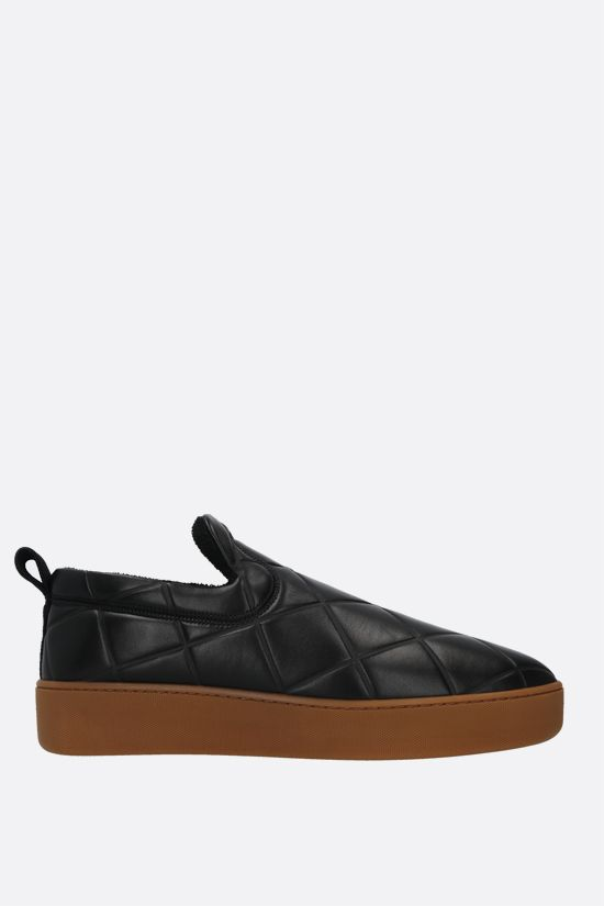 BOTTEGA VENETA: BV Quilt quilted nappa sneakers Color Black_1