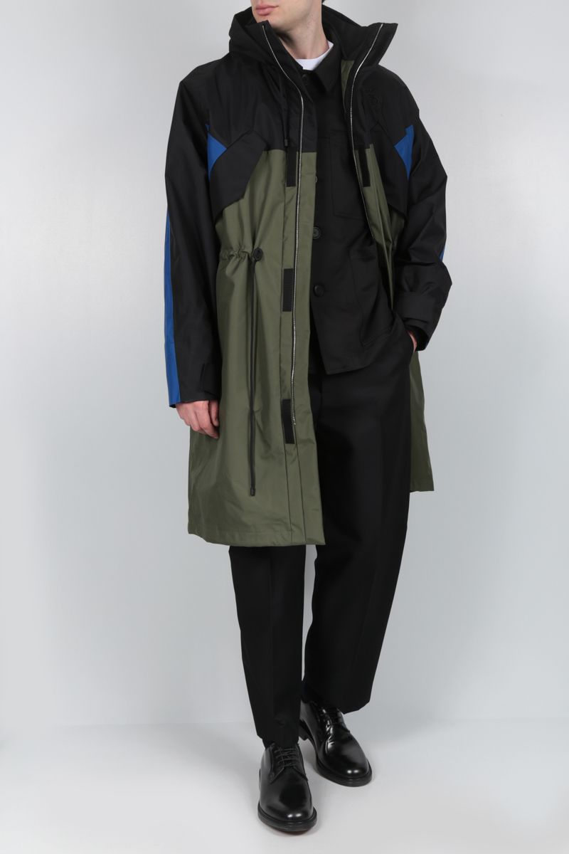 Eye/LOEWE/Nature: Eye/Loewe/Nature technical fabric parka Color Multicolor_2